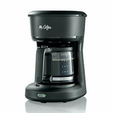 Coffee Brew Mini Maker 5-Cup 25 oz Black Programmable Switch Auto Pause handling