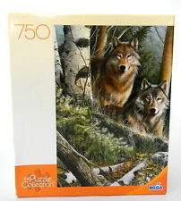 750 Piece Jigsaw Puzzle Two Wolves The Puzzle collection MEGA