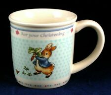 PETER RABBIT - CUP Wedgwood Beatrix Potter New