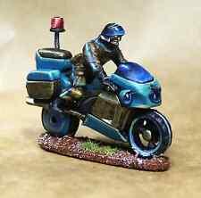 La policía Moto Y Jinete sin pintar ESCENOGRAFIA Warhammer 40K WH40K 28mm