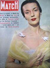 PARIS MATCH N° 0119 LUDMILLA TCHERINA MOULIN ROUGE TOULOUSE-LAUTREC 1951