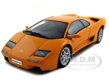 LAMBORGHINI DIABLO 6.0 ORANGE 1:18 DIECAST MODEL CAR BY AUTOART 74527