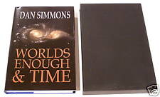 DAN SIMMONS WORLDS ENOUGH & TIME LIMITED SIGNED 1/1