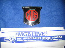 MG  NEW MGB ROADSTER OR GT  RED / BLACK GRILL BADGE 62-70   ARA2148      EB51