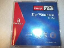 Iomega Zip Disk 750MB PC/MAC 1-Pack Discontinued by Manufacturer