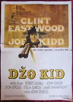 Movie Poster Joe Kidd Clint Eastwood Duvall Western 1972 Vintage