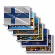 FI Finlandia frigo calamite frigorifero magneti fridge magnet Kühlschrankmagnet