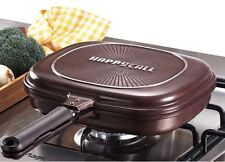 happycall double-sided Jumbo Grill Pan with Special silicon pressure packing