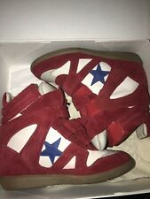 isabel marant Bayley Wedge Sneakers Americana 39