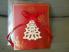 Lenox Pierced Christmas Tree Ornament in Package -New Condition