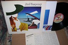"Bad Company Desolation Angels LP VG+ Vinyl ""Japan Lyric Insert"" P-10490N"