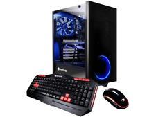 New iBUYPOWER View21 035A Gaming Desktop AMD Ryzen 7 1800X 16GB 1TB 120GB RX 580