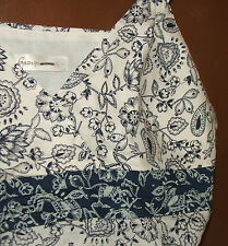 Top blue & white size 18,  by George 100 % cotton hardly been worn