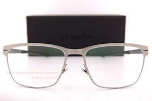 Brand New ic!berlin Eyeglass Frames T 117 Ceramic-Matt/Black Titanium For Men
