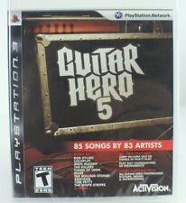 Guitar Hero 5 PS3  NEW