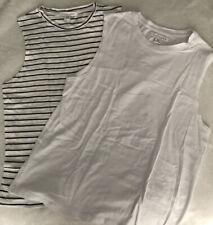 Nude Lucy Basic Muscle T-Shirt (x2) Size XS & XXS