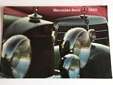 MERCEDES BENZ 1968 Car Sales Brochure
