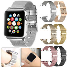Stainless Steel Milanese Mesh Wrist Strap For Apple iWatch Series 5 4 3 2 1 Band