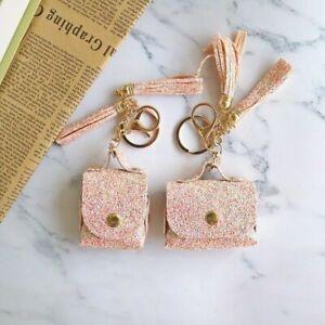Girls Glitter Bling Leather Earphone Cover Bag Case For Apple AirPods Pro 2 1