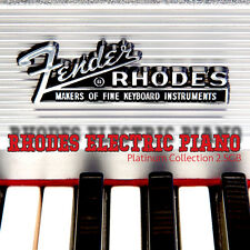 RHODES ELECTRIC PIANO PLATINUM - REAL 24bit Samples Library 2.5GB on DVD