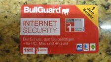 Bullguard Internet Security, 1 Jahr, 3 Geräte für PC, Mac, Android  Sonderpreis!