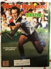September 17, 1984 John McEnroe U.S. Open Champion Sports Illustrated Magazine