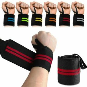 Sport Gym Hand Wrist Brace Support Weight Lifting Strap Wrap Protector Wristband