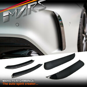 Gloss Black Bumper bar Vent Cover for Mercedes-Benz AMG Pack C117 X117 & CLA45