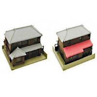Kato 23-482 N Scale Hip Roof House Two Story UniTrack