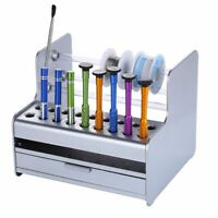 Tool Box Storage Organizer Rack Screwdriver Tweezer Electronic Components Repair