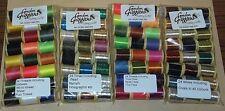 GORDON Griffiths 48 bobine di fili misti, filettature e decorazioni