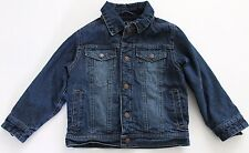 Children's Place Fleece Lined Denim Jacket-Boys-Sz XS (4)