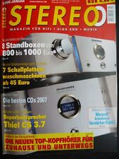 STEREO 1/08 NAKAMICHI ZXL 1000,MARANTZSC/SM 11S1,KEF XQ 20,MERIDIAN G 95,AUDIO