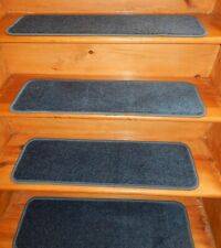 "13 Step Indoor Outdoor Stair Treads Non Slip 9"" x 30"" + landing 30"" x 28"" ."