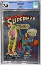 Australian SUPERMAN 102 DC Comics 1950's w ACTION COMICS 242 1st App BRAINIAC UK