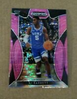 2019 RJ Barrett Prizm Draft Picks Pink Pulsar Rookie Card NY Knicks Duke RC
