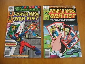 Power Man and Iron Fist #'s 64 and 65 near mint