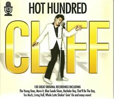 HOT HUNDRED CLIFF - 4 CD BOX SET - 100 GREAT ORIGINAL RECORDINGS - CLIFF RICHARD