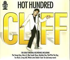 HOT HUNDRED CLIFF - 4 CD BOX SET - 100 GREAT ORIGINAL RECORDINGS - CLIFF RICHARD