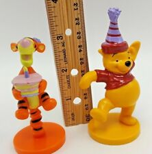 Winnie Pooh Tigger Birthday Cake Topper Set 2 Disney Applause Decopac Toy Figure