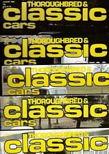 Various Issues of CLASSIC CARS Magazine from October 1974 to August 1989