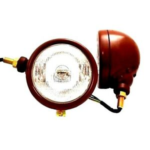 ORIGINAL STYLE HEAD LIGHTS FOR DAVID BROWN 850 880 900 950 990 IMPLEMATICS.