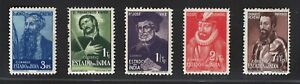 Portuguese India   1948   Historical Figures Issue   MH OG