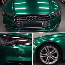 100x50CM Glossy Green DIY Material Car Body Tint Films Vinyl Wrap Sticker Emblem