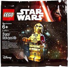 LEGO 5002948 DISNEY STAR WARS TRU PROMO C3PO C-3PO - POLY BAG - AGES 6+ NEW
