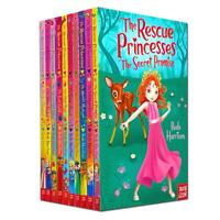 The Rescue Princesses Series Books 1-10 Collection Set By Paula Harrison NEW
