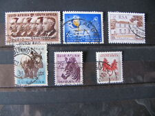 6 St. Briefmarken Südafrika