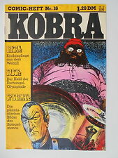 1x Comic - Kobra Nr. 16 - Z. 2/2-