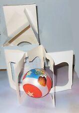 Sandra Blake Signed Glass Ornament In Box (Red, White & Blue W/ Stars & Eagle)
