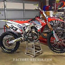 Honda Coors crf cr 65 80 85 150 Graphics Decals any year 1990-present